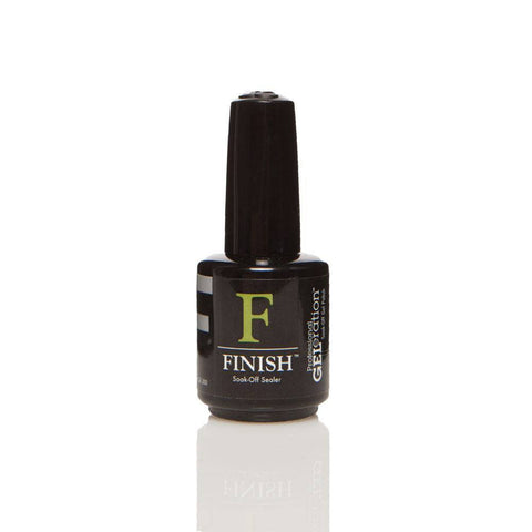 Jessica GELeration Soak Off UV Gel - FINISH (Top Coat) 15ml - Gel Addicts