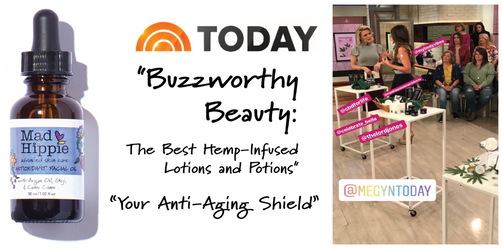Mad Hippie Antioxidant Facial Oil on The Today Show