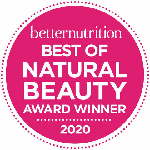 2020 award winning - best in natural beauty