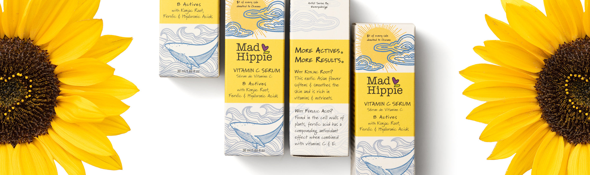 Mad Hippie Vitamin C Artists Series Boxes