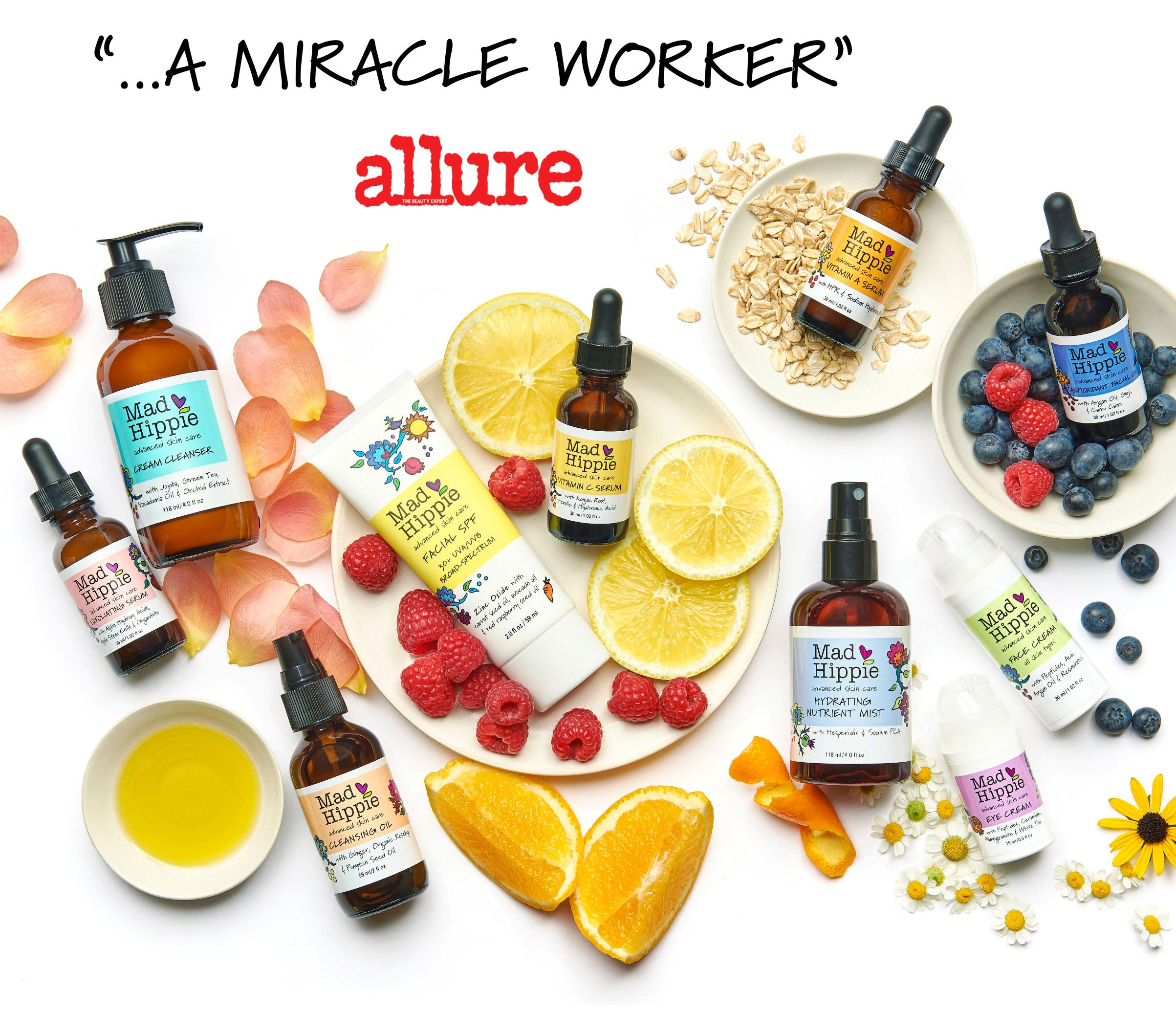 Skin care products + antioxidants