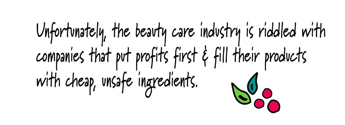 Some brands use cheap, synthetic ingredients