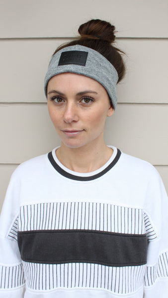 Cashmere Ear Warmer Headband - Heather