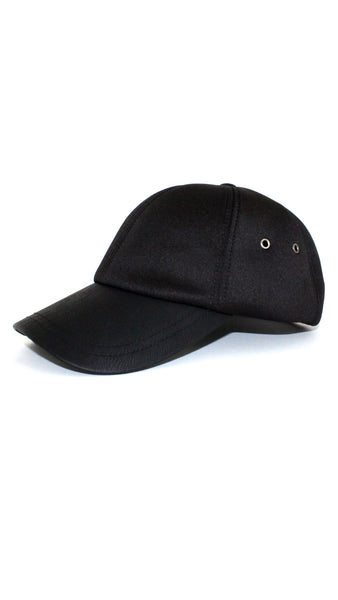 Neoprene Baseball Cap - Black