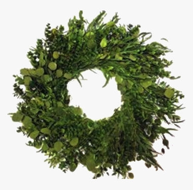 "24"" Dried Citrus and Eucalyptus Wreath"