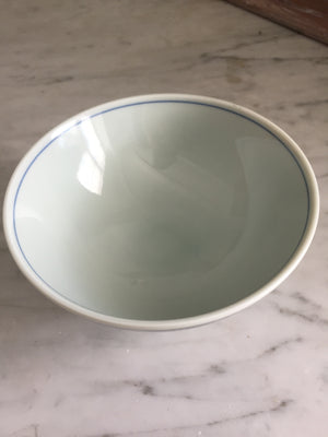 Vintage Blue and White Bowls