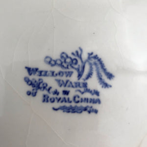 Blue Willow Plate
