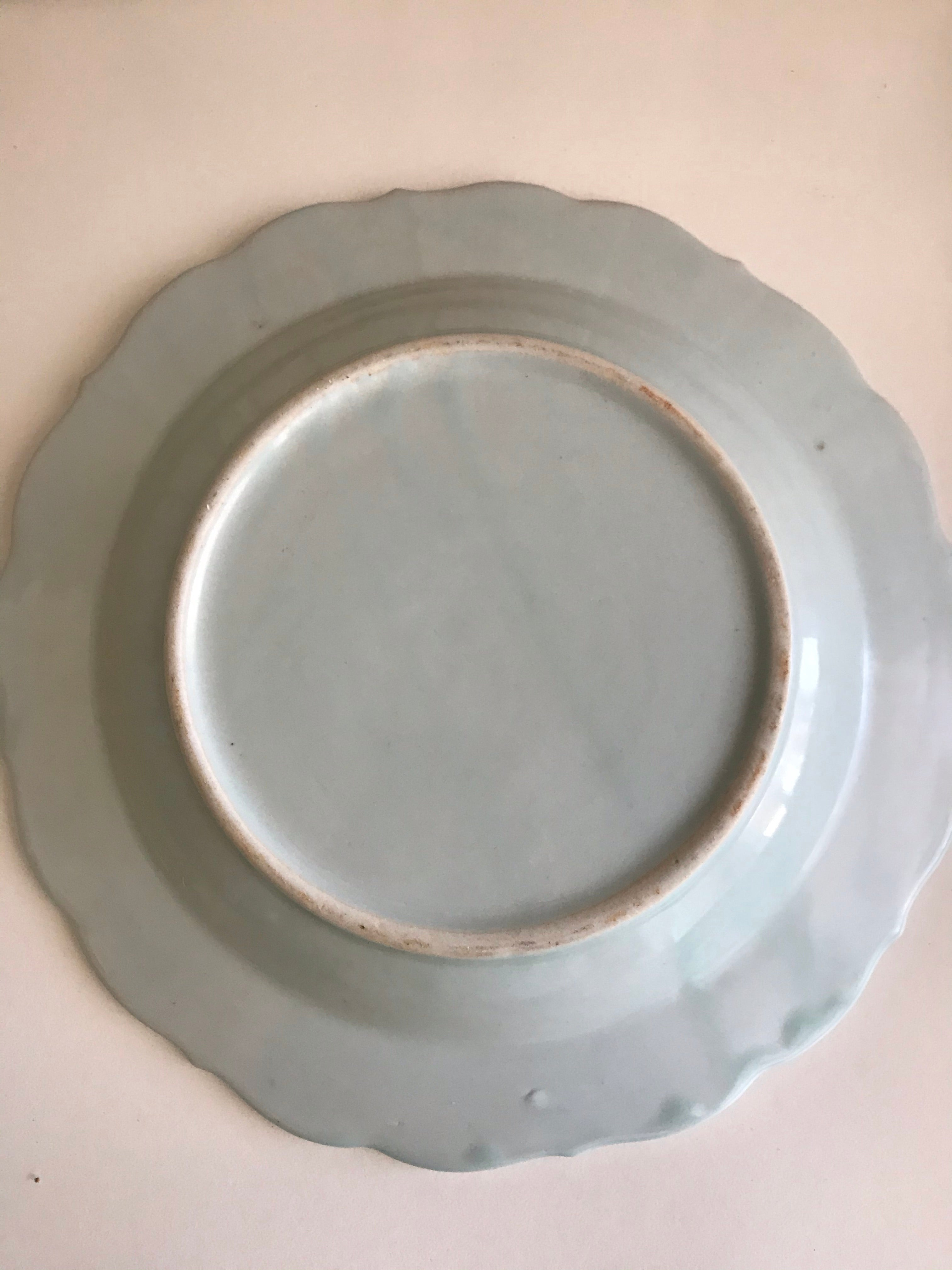 Blue and White Shallow Bowl
