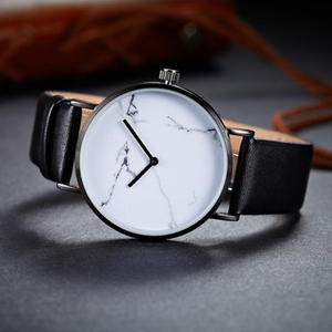 Marble Watch - White - Style Nation Singapore