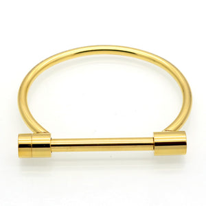 Cratus Cuff Bracelet - Gold - Style Nation Singapore