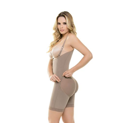 Premium Full Body Shaper - Firm Control Bodysuit with Butt-lift