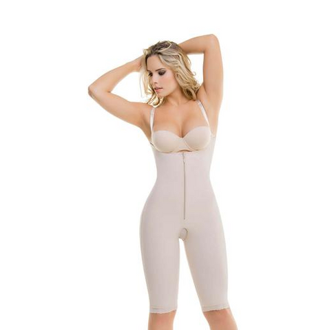 Premium Full Body Shaper - Ultra Compressive Rear-Enhancer Bodysuit