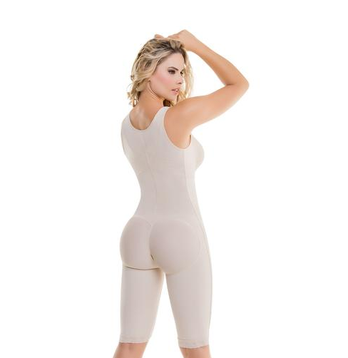 Premium Full Body Shaper - Posture Correcting Firm Compression Bodysuit