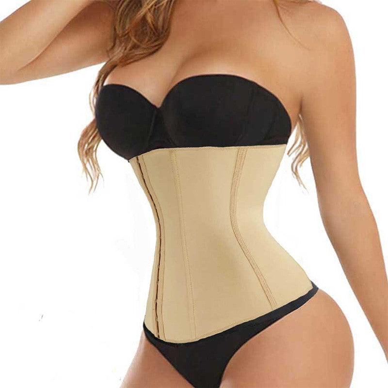 Best Body Shaper Steel Bone Waist Trainer Corset. Speeds Up Weight Loss While Creating An Hourglass Figure
