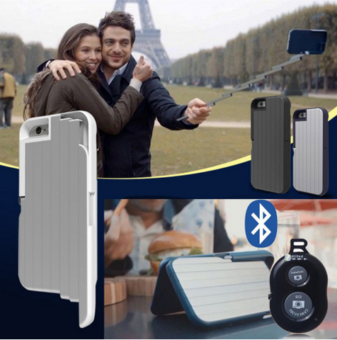 Remote Selfie Stick Case (For iPhone)