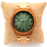 Full Bamboo Japanese Quartz Watch