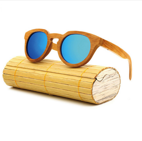 Bamboo Retro Polarized Sunglasses (52% OFF!)