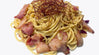 Spaghetti Aglio Peperoncino with Bacon