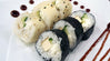 Cucumber, Cream Cheese, and Tofu Sushi Rolls