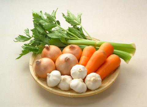 A basket of vegetables