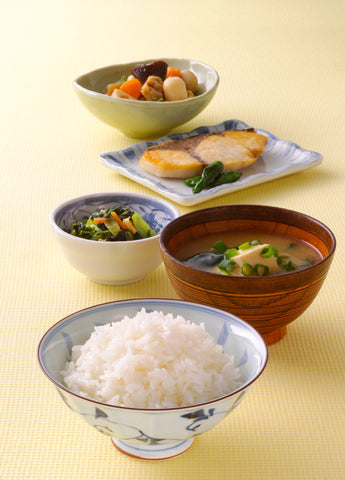 Japanese washoku meal