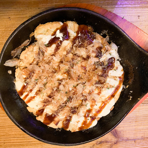 Okonomiyaki from Coco Izakaya 2.0, Seattle