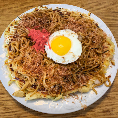 Okonomiyaki from Diamonji, Seattle