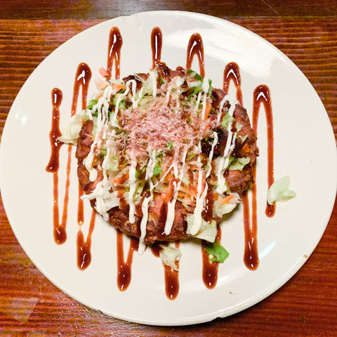 Okonomiyaki from Nuna Ramen, Seattle