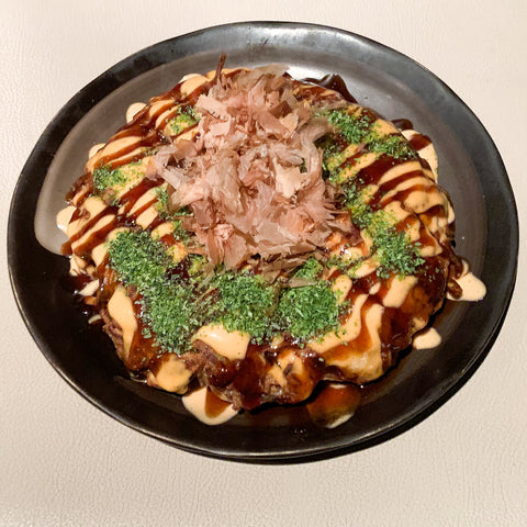 Okonomiyaki from Wann Izakaya, Seattle