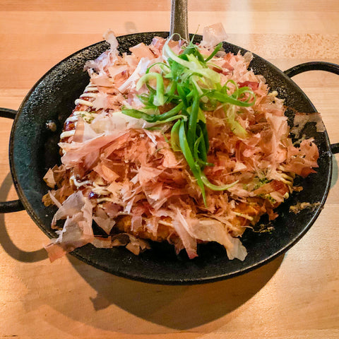 Okonomiyaki from Yoroshiku, Seattle
