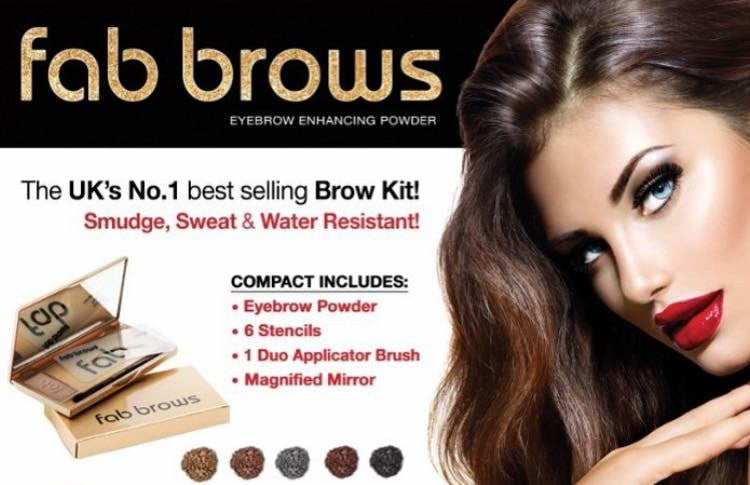 Fab brows duo kit Slate/Black