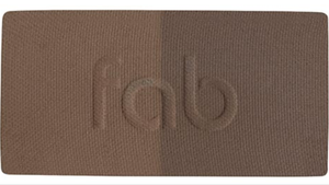 Fab brows duo kit Dark brown/Chocolate