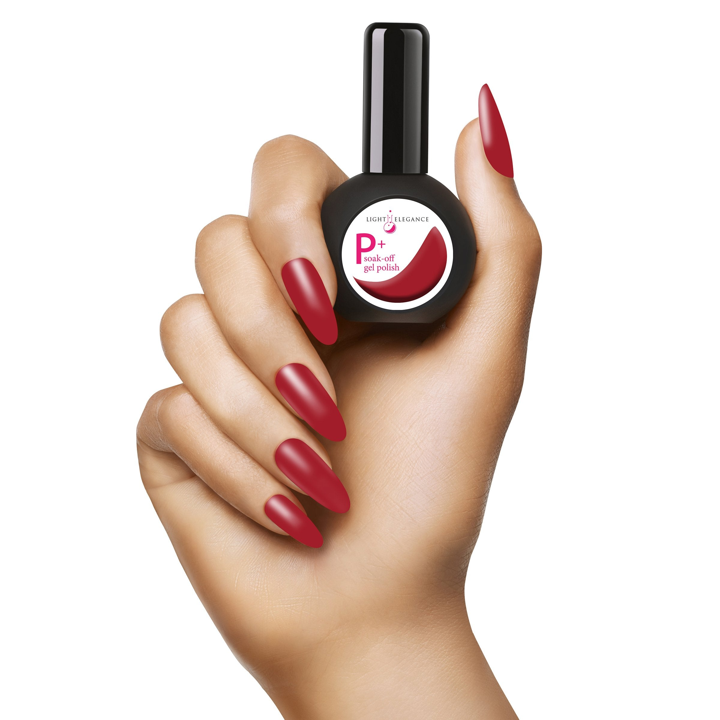 NEW P+ Red Lips Gel Polish