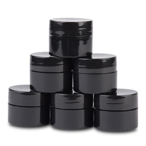 Black Mixing Containers - Light Elegance