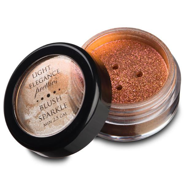 Blush Sparkle Effect Pretty Powder - Light Elegance