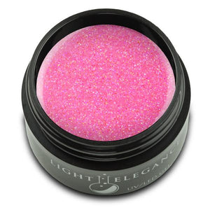Bubble Gum UV/LED Glitter Gel - Light Elegance