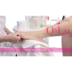 Dry Pedicure Step-by-Step using Q&Lu Spa Essentials