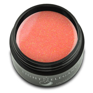 Orange Crush UV/LED Glitter Gel - Light Elegance