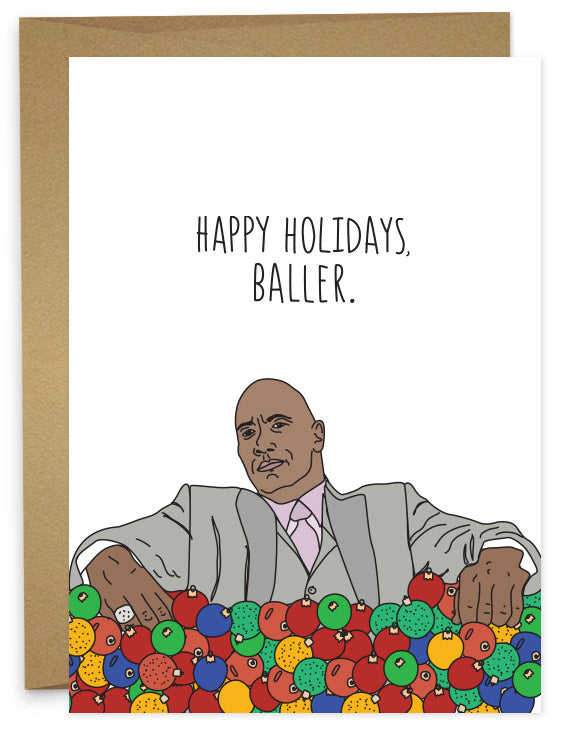 Happy Holidays Baller