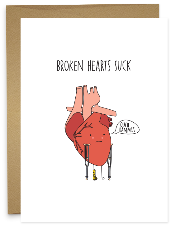 Broken Hearts Suck