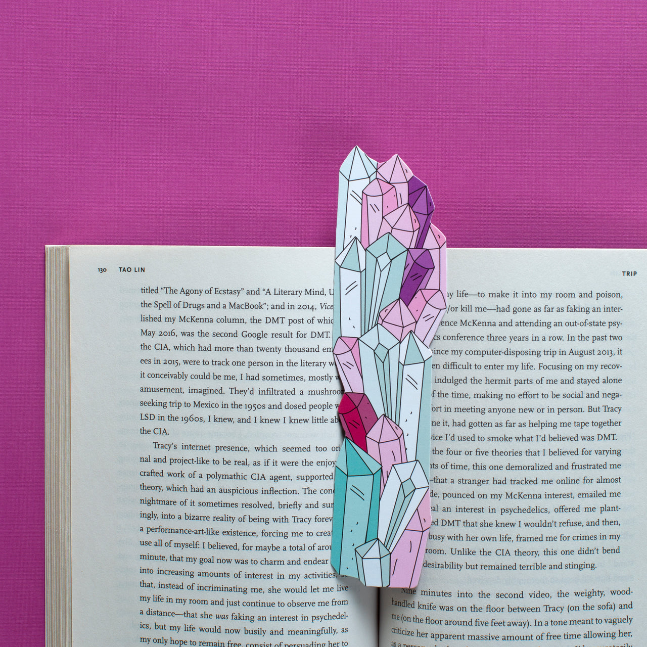 Crystals Bookmark