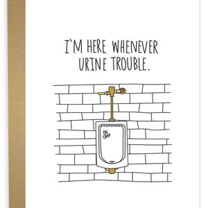Whenever Urine Trouble