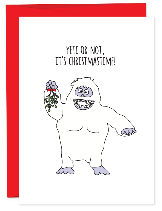 Yeti Or Not, It's Christmastime