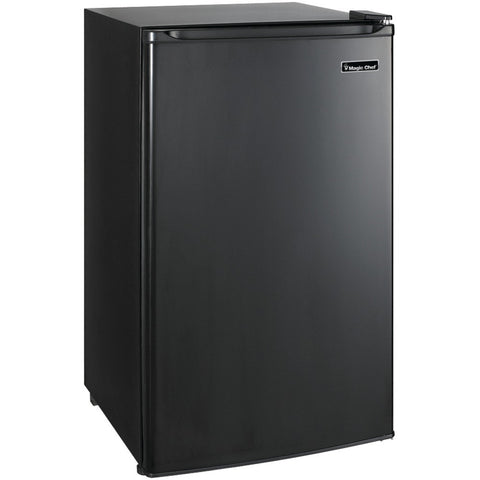 MAGIC CHEF MCBR350B2 3.5 Cubic-ft Refrigerator (Black) - Pier 54 Home and Outdoor