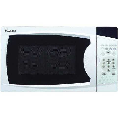 MAGIC CHEF .7 Cubic-Foot, 700-Watt Microwave with Digital Touch (White)