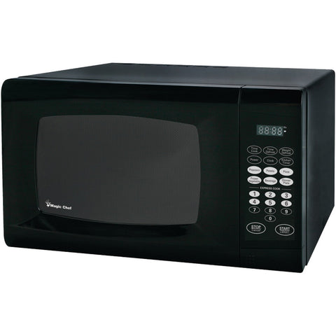 MAGIC CHEF MCM990B .9 Cubic-ft, 900-Watt Microwave with Digital Touch (Black)