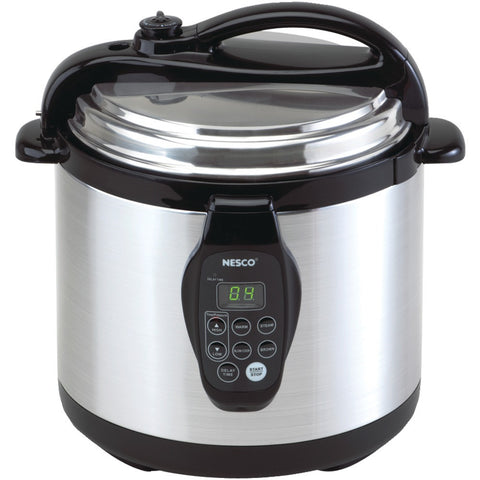 NESCO PC6-25 6-Quart Digital Electric Pressure Cooker www.pier54homeandoutdoor.com