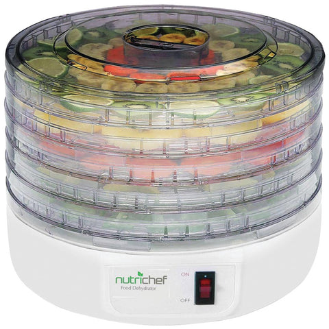 PYLE HOME PKFD12 Electric Countertop Food Dehydrator/Food Preserver