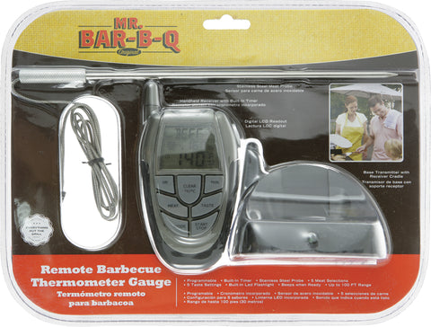 Mister Barbecue, Remote Barbecue Thermometer Gauge