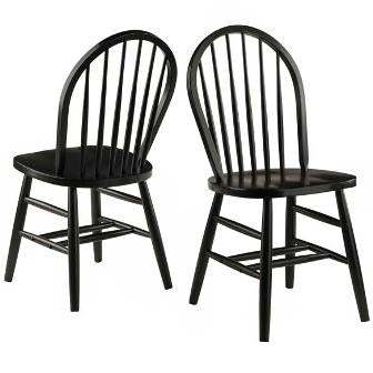 Winsome, Windsor 2-PC Chair Set, RTA 29836